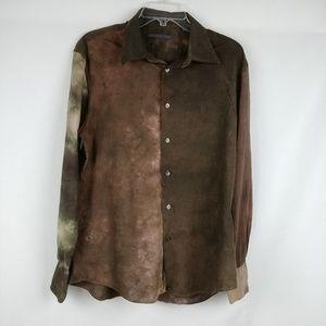 john vavartos Tie Dye Men's Shirt